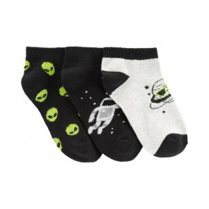 3-Pack Space Ankle Socks