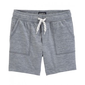 Moisture Wicking Pull-On Shorts