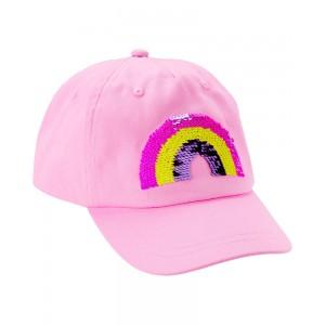 Flip Sequin Rainbow Baseball Hat
