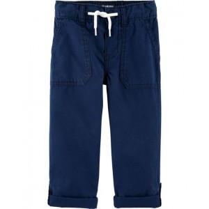 Convertible Poplin Pants