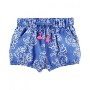 Paisley Bubble Shorts