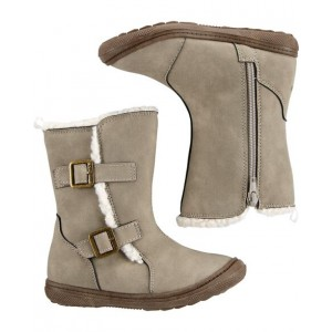 OshKosh Taupe Sherpa Boots