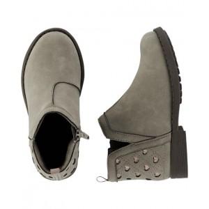 OshKosh Taupe Ankle Boots