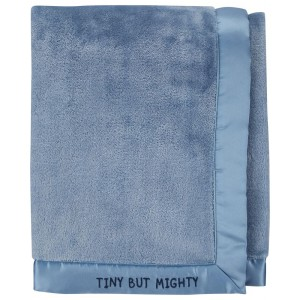 Tiny But Mighty Fuzzy Gift Blanket