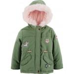 Patch Parka Jacket