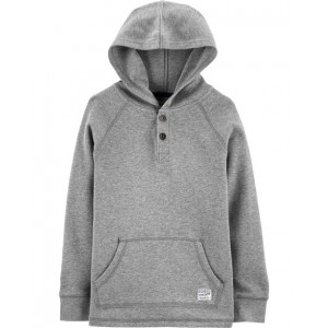 Hooded Henley Thermal