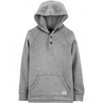 New Arrival Hooded Henley Thermal