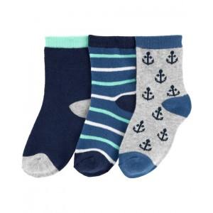 3-Pack Anchor Socks