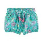 Floral Bubble Shorts