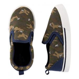 OshKosh Camo Astronaut Slip-On Shoes