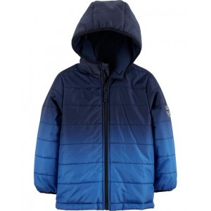 Ombre Puffer Jacket