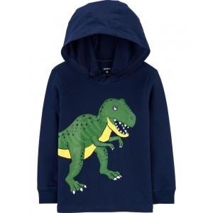 T-Rex Hooded Jersey Tee