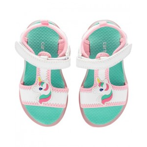 Carters Unicorn Light-Up Sandals