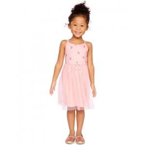Flamingo Tulle Dress