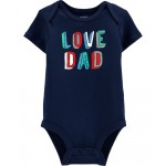 Love Dad Collectible Bodysuit