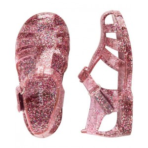 Carters Glitter Jelly Sandals