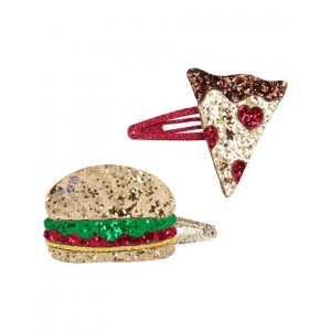 2-Pack Food Hair Clips