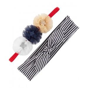 2-Pack Stars  Stripes Headwraps