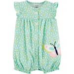 Butterfly Snap-Up Romper