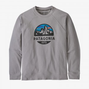 M's Fitz Roy Scope Organic Crew Sweatshirt