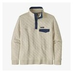 Mens Organic Cotton Quilt Snap-T Pullover