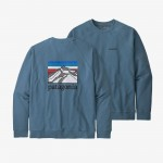 M's Line Logo Ridge Organic Crew Sweatshirt