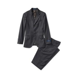 Polo Pinstripe Wool Twill Suit