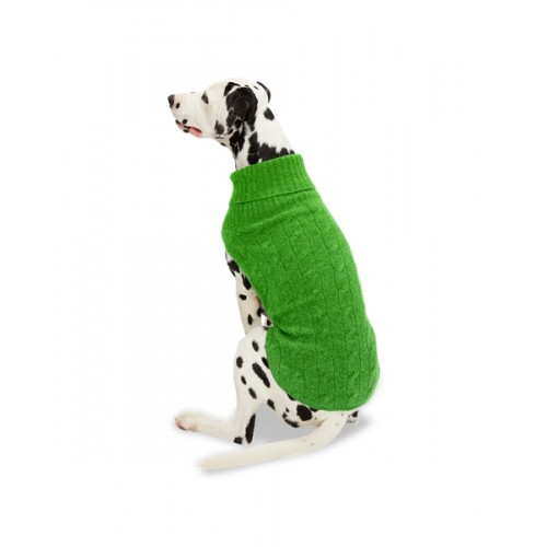 폴로 Cable Cashmere Dog Sweater