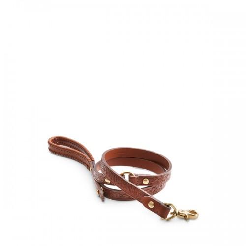 폴로 Dakota Tooled Leather Leash