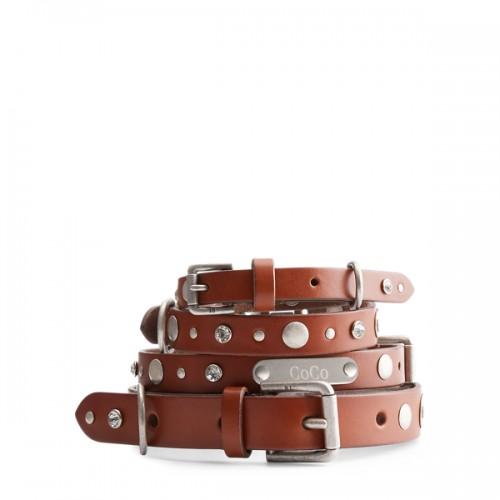 폴로 Wylie Leather Dog Collar