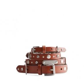 Wylie Leather Dog Collar