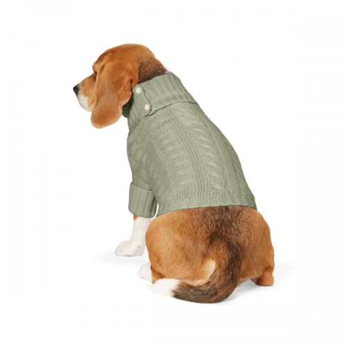 폴로 Cable Cashmere Dog Sweater