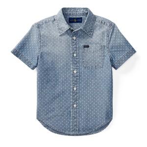 Star Cotton Chambray Shirt
