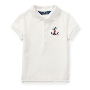 Anchor Mesh Polo Shirt