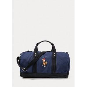 Canvas Big Pony Duffel Bag