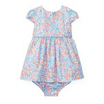 Floral Cotton Dress  Bloomer