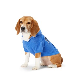 Polo French Terry Dog Hoodie