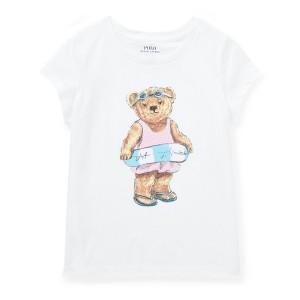 Beach Bear Cotton T-Shirt