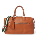 Pebbled Leather Duffel