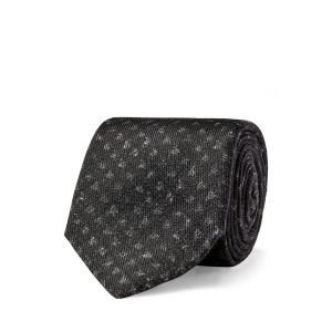 Print Wool Tie
