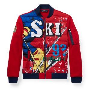 Downhill Skier Down Jacket