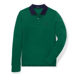 Classic Fit Cotton Mesh Polo