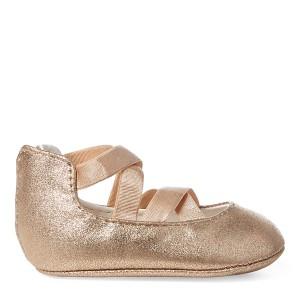 Priscilla Metallic Ballet Flat