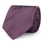 Pin Dot Silk Twill Narrow Tie