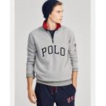 Cotton-Blend-Fleece Pullover