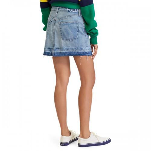 폴로 Denim Miniskirt