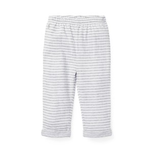 Striped Jacquard Pull-On Pant