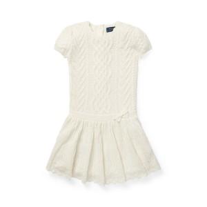 Aran-Knit Cashmere Dress