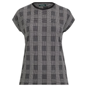 Plaid Jersey T-Shirt