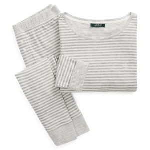 Stripe Fitted Sleep Set